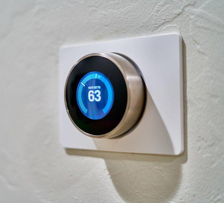 Thermostat setting heat